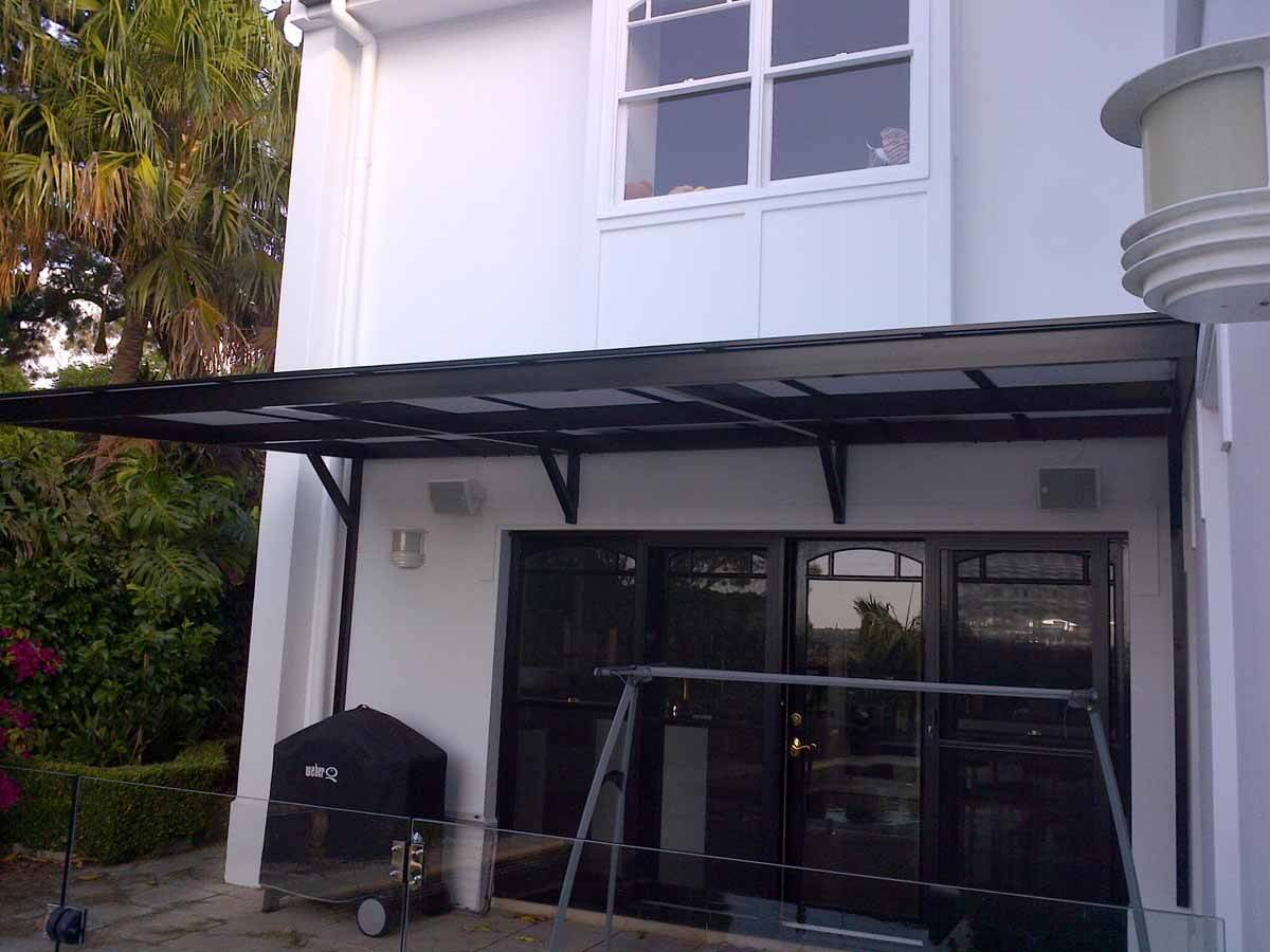 Cantilevered Awning 6A