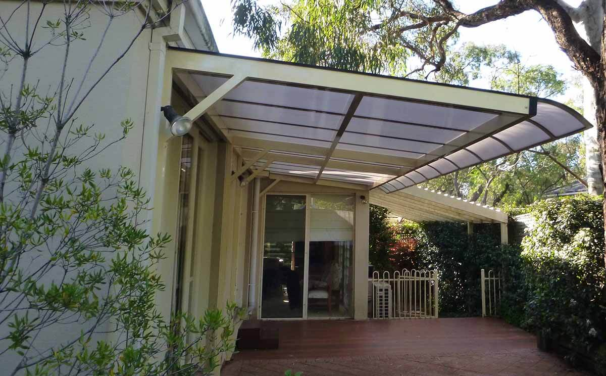 Cantilevered Awning 7